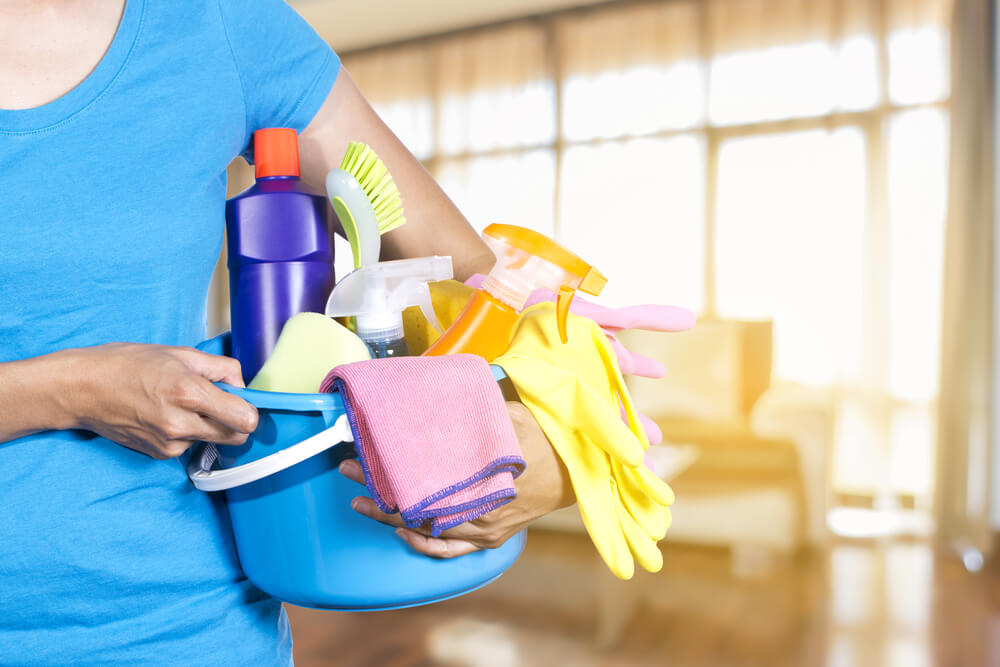 Step by Step House Cleaning Checklist