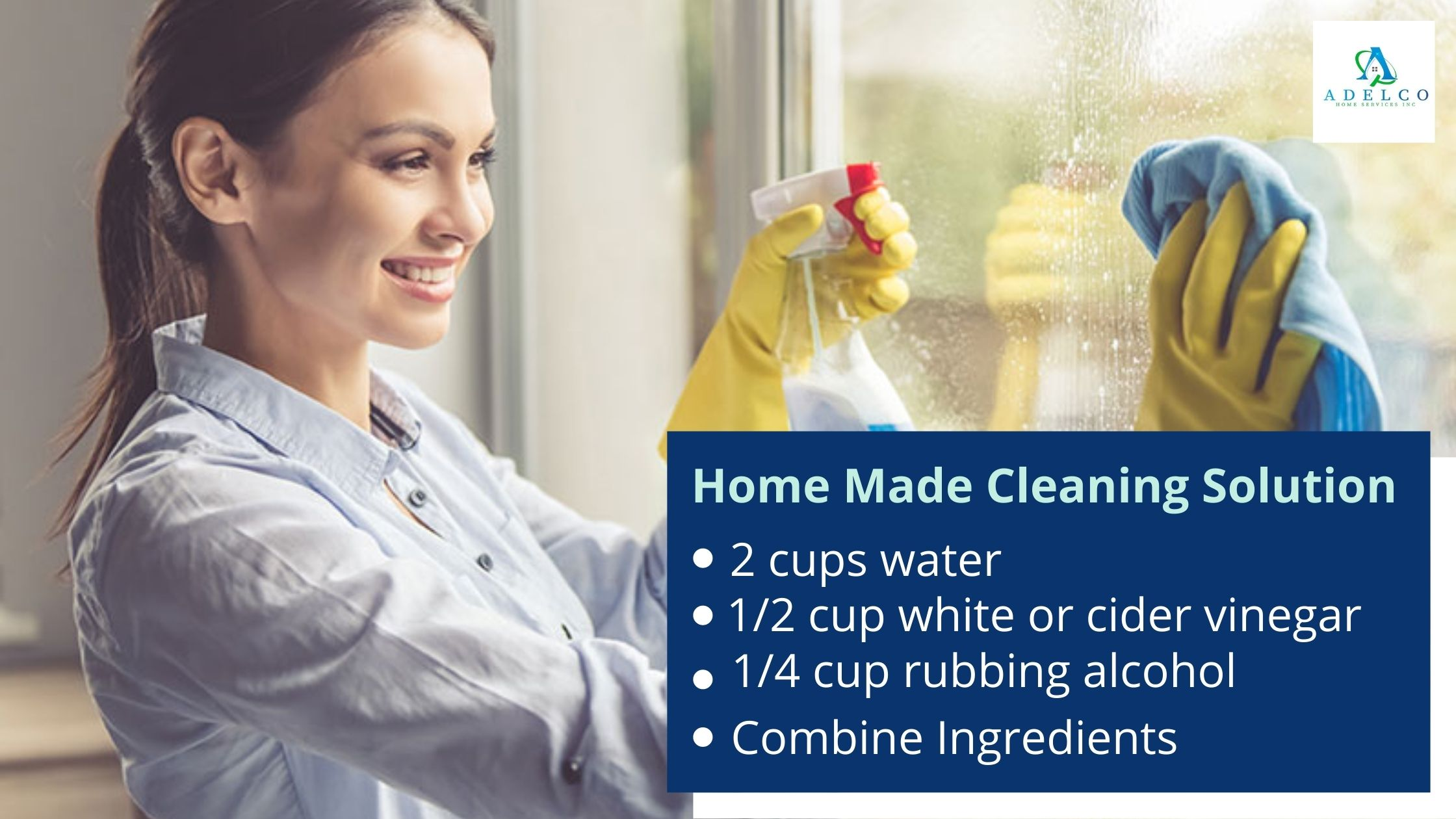 How to Make Home Made Window Cleaning Solution