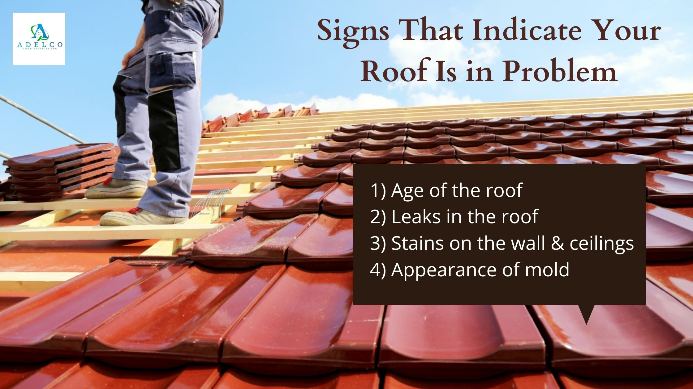 Signs that Indicate Your Roof is in Problem