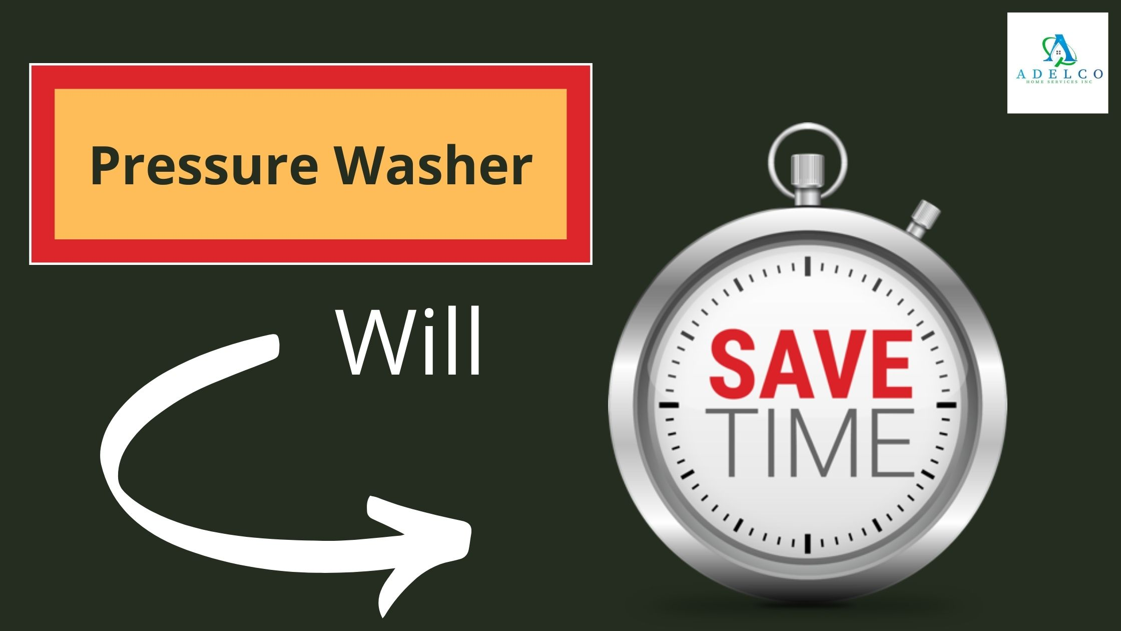 Pressure Washer Will Save Your Time
