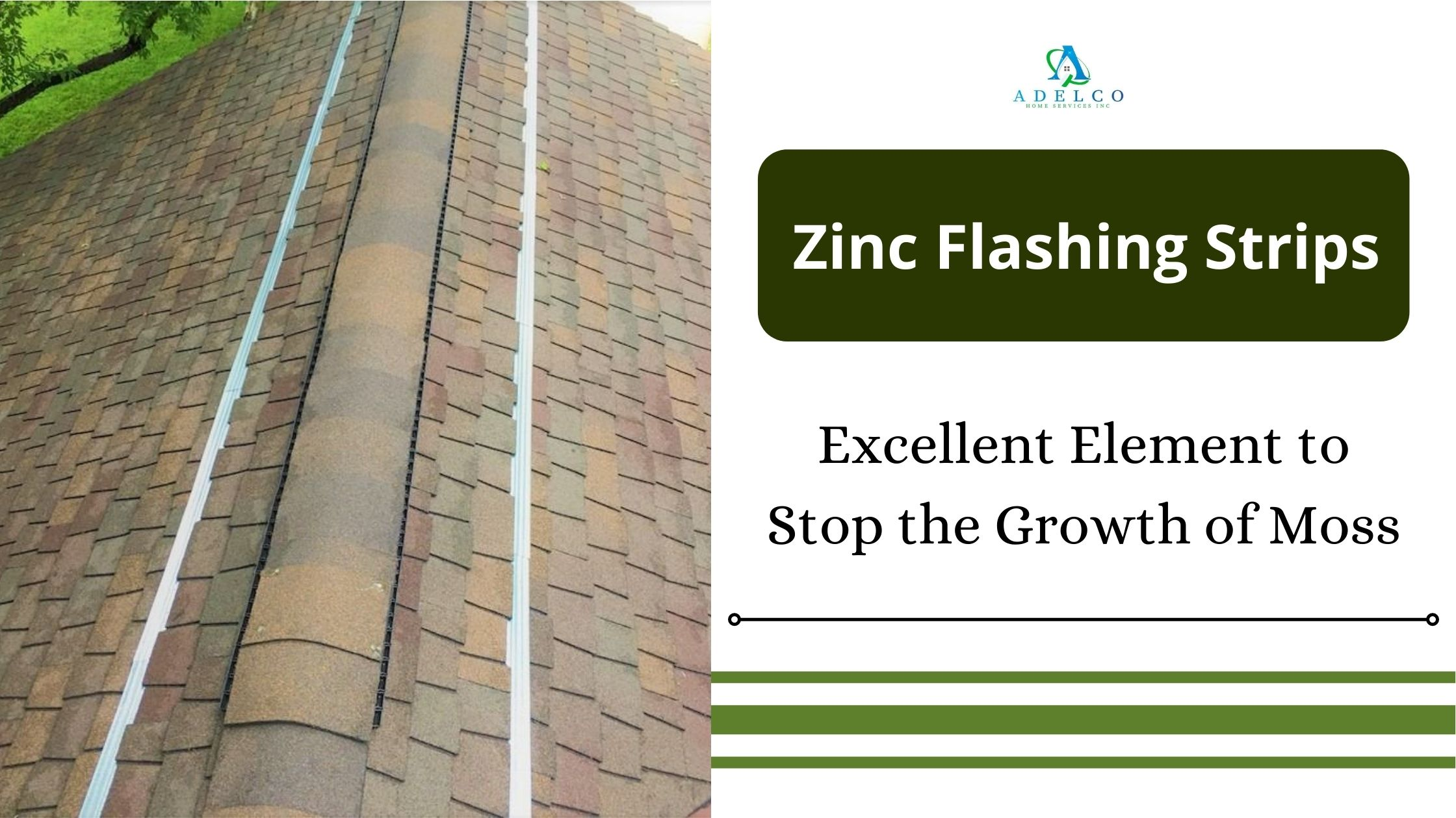 Use Zinc Strips to Prevent Moss Growth