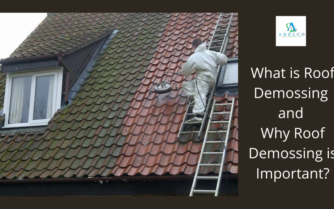 What Is Roof Demossing and Why Roof Demossing Is Important?