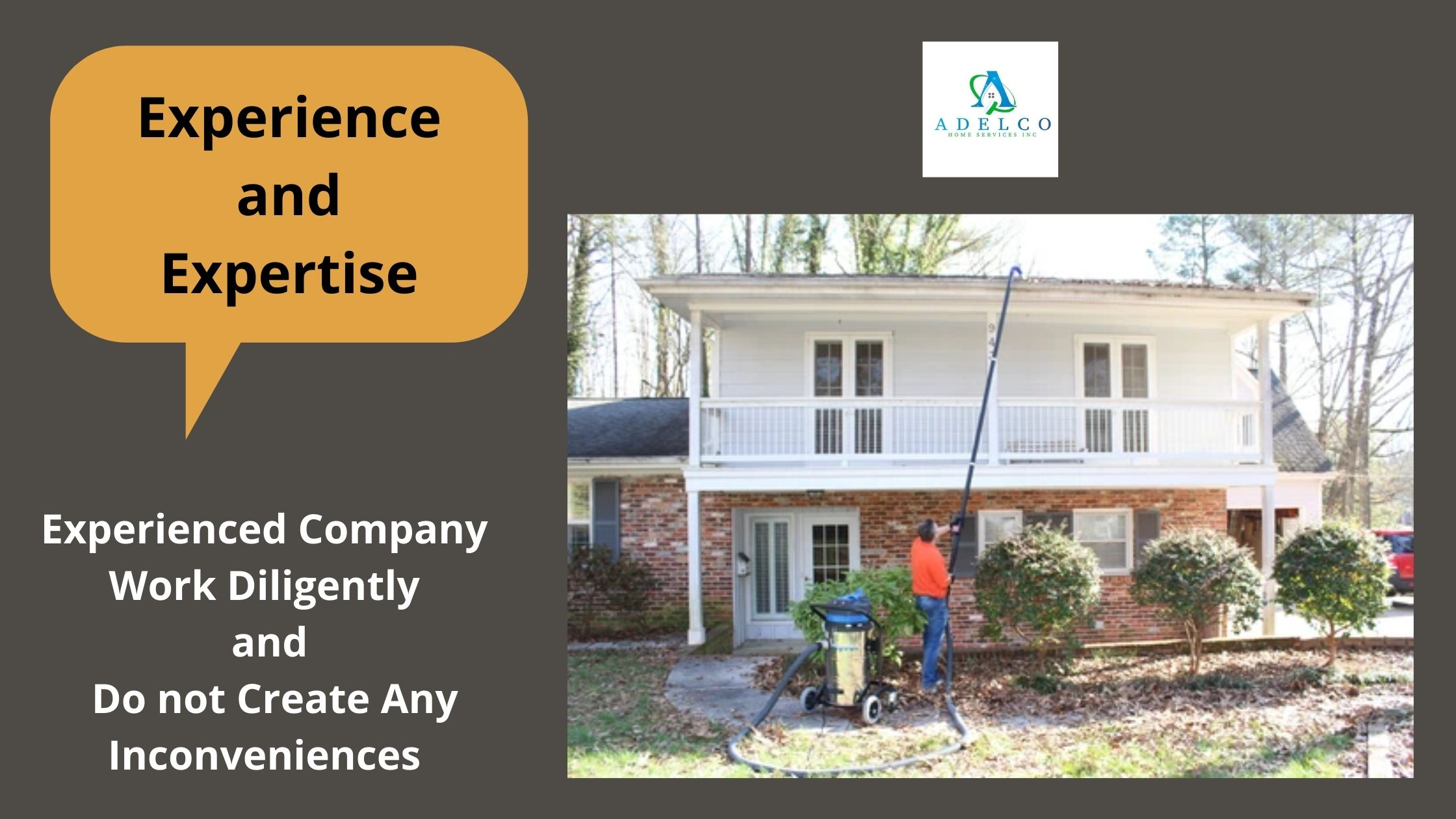 Experience and Expertise Gutter Cleaners