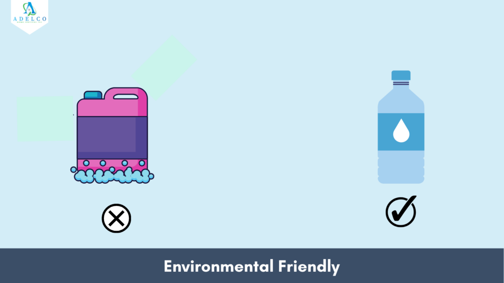 Tucker Water Fed Pole is Environmental Friendly