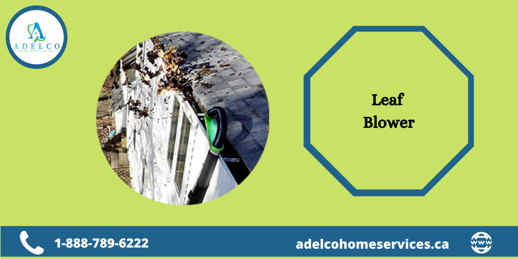 Use Leaf Blower for Gutter Cleaning