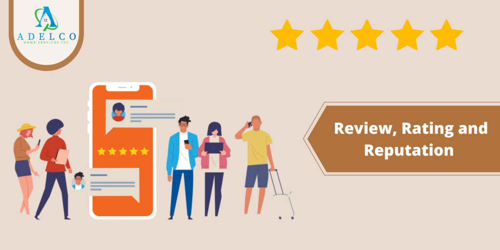 Review, Rating and Reputation