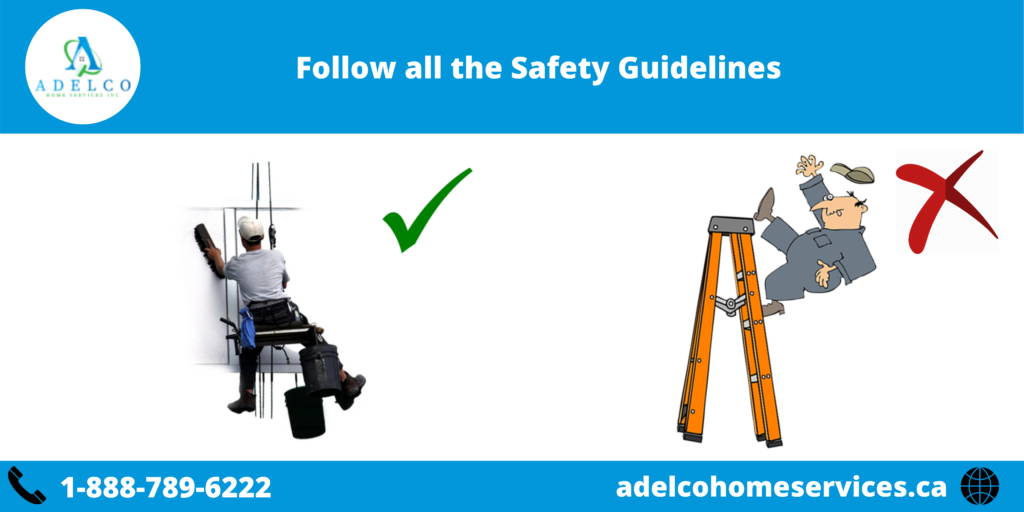 Follow Skylight Safety Guidelines