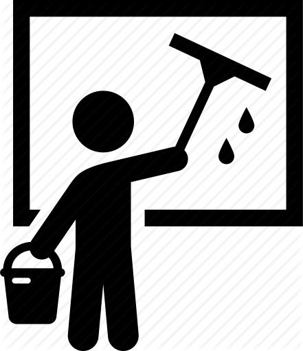 Window Cleaning Icon