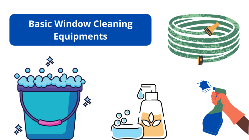 Always Start by Gathering Basic Window Cleaning Supplies