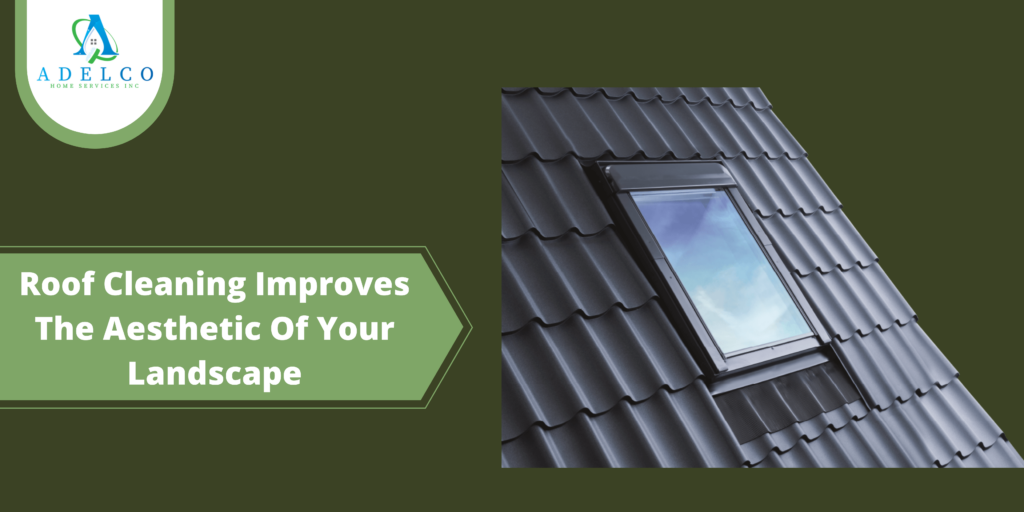 Roof Cleaning Improves The Aesthetic Of Your Landscape