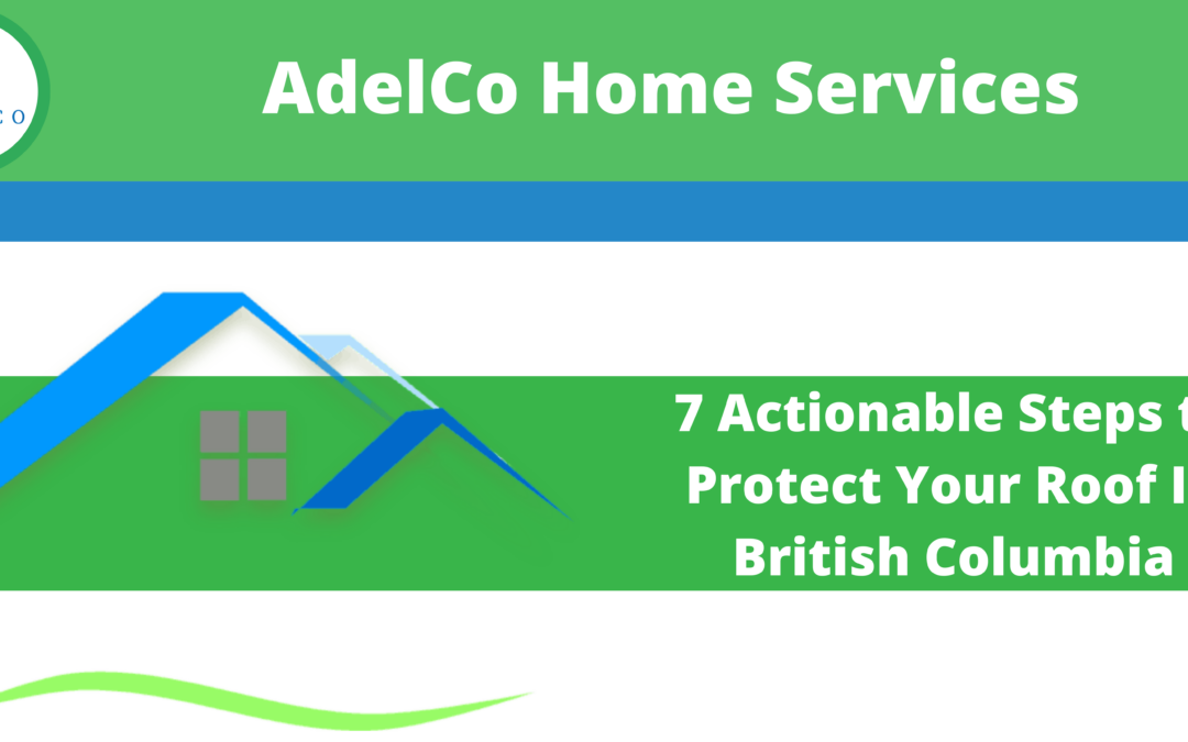 7 Actionable Steps to Protect Your Roof In British Columbia